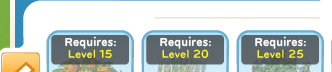 Level requirements