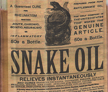 Snake oil