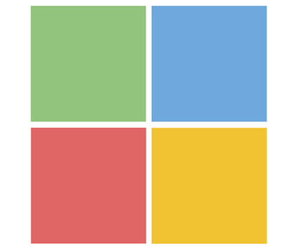 Square Colored 00 Blank